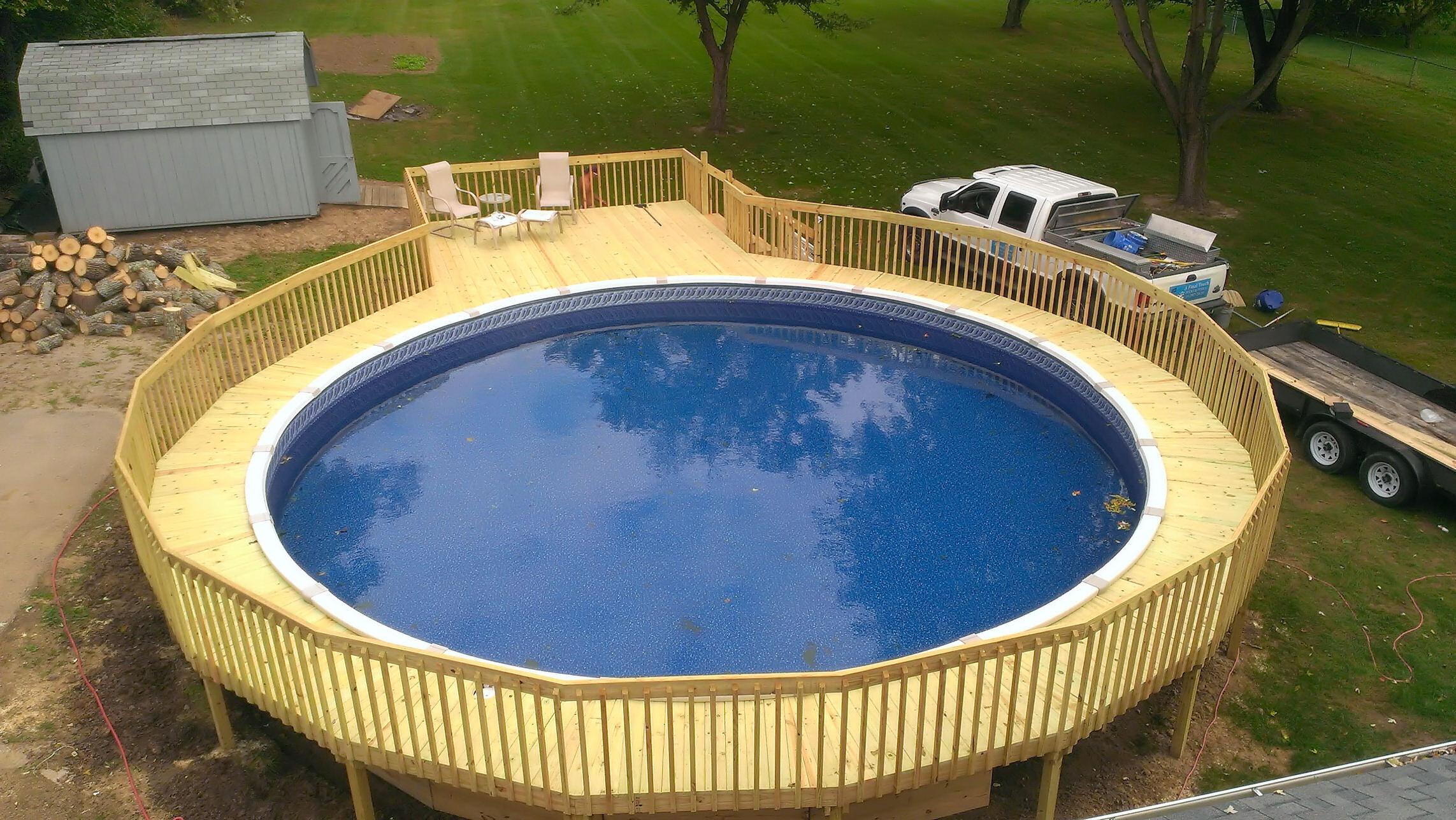 A Final Touch Decks Amp Pools Dayton Ohio